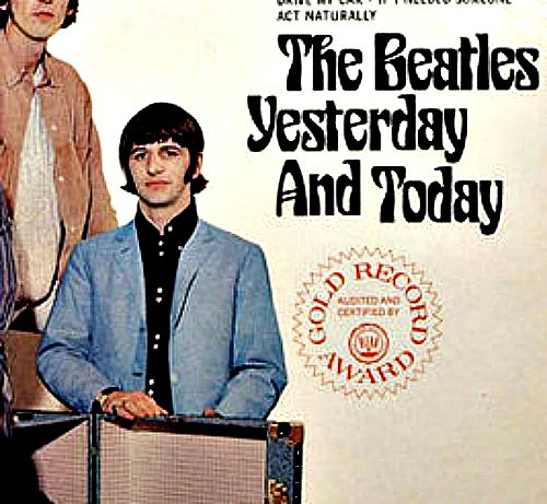 beatles yesterday and today gold award