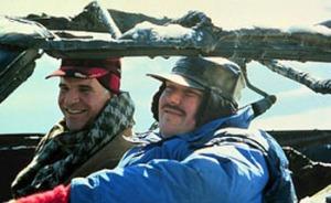 STEVE MARTIN & JOHN CANDY Film 'PLANES, TRAINS & AUTOMOBILES' (1987) 01/05/1987 CTR56819 Allstar/Cinetext/PARAMOUNT PICTURES
