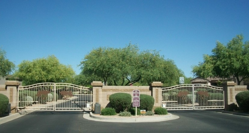 gated community