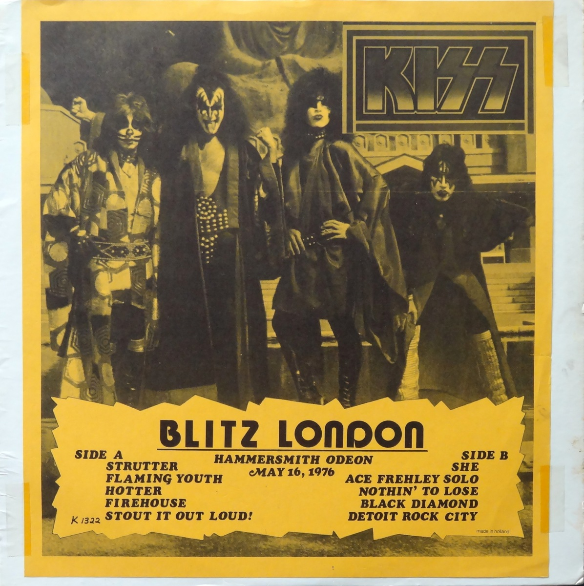 From the Stacks: KISS, 'Lunch Box' and 'Blitz London'