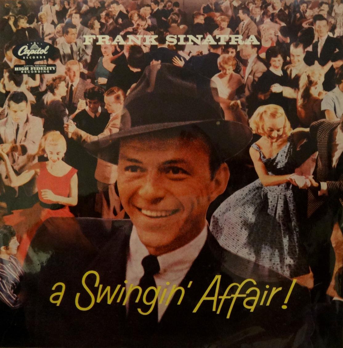 Sinatra Swingin Affair Front