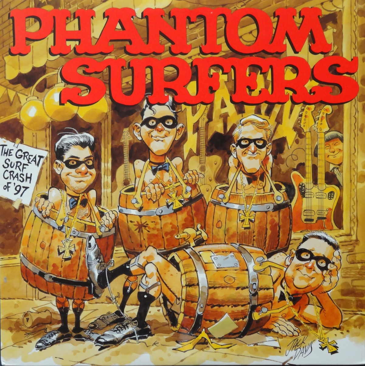 Cartoon Saturday:  The Phantom Surfers, ‎'The Great Surf Crash Of '97'
