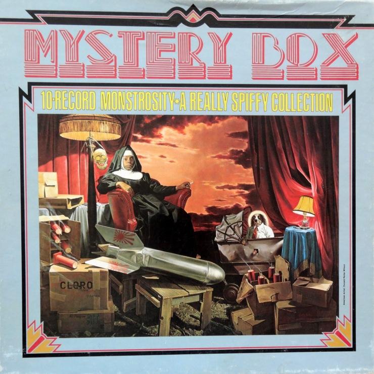 Frank Zappa Mystery Box front
