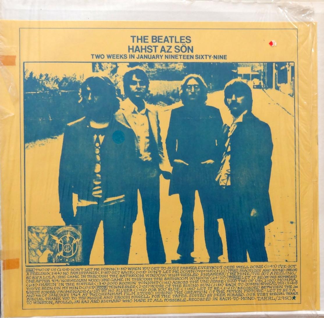 Beatles Hahst Az Son front