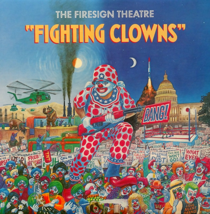 Firesign Theater Fighting Clowns front