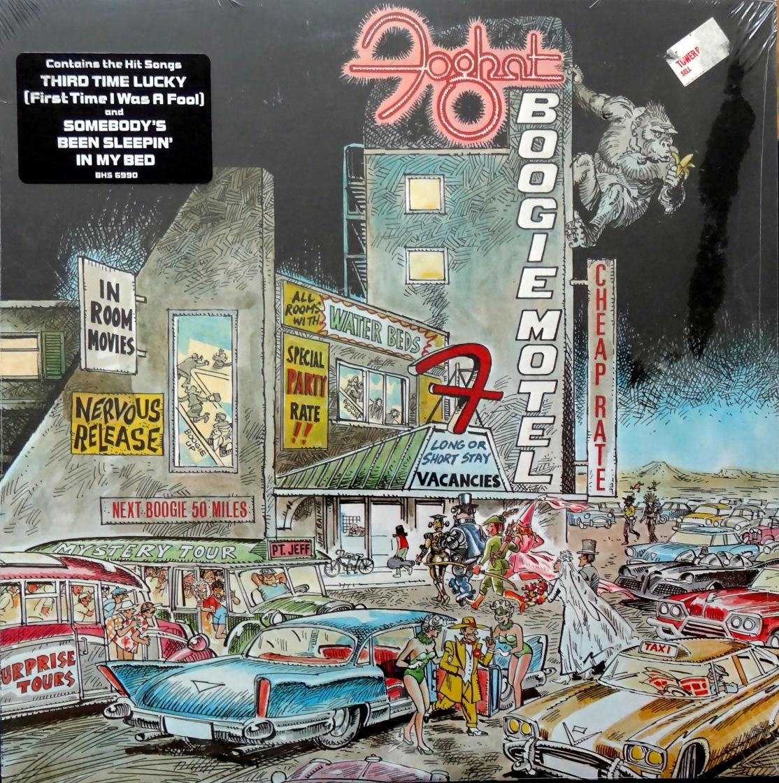 Foghat Boogie Motel front