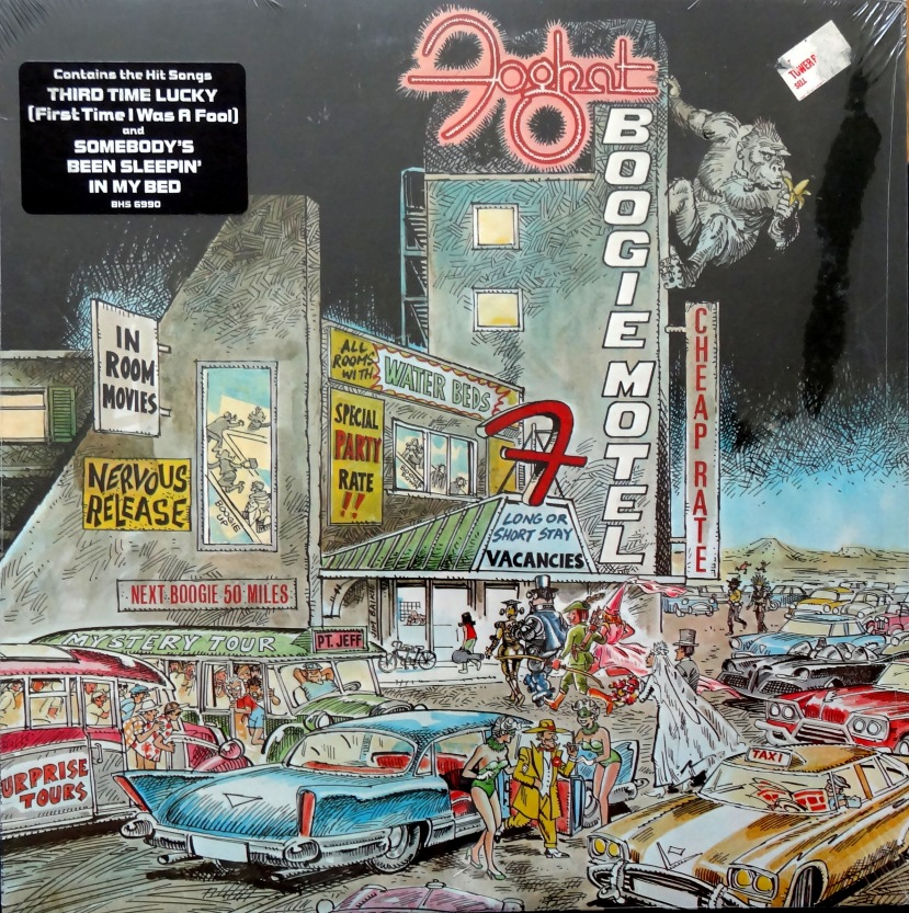 Foghat Boogie Motel front