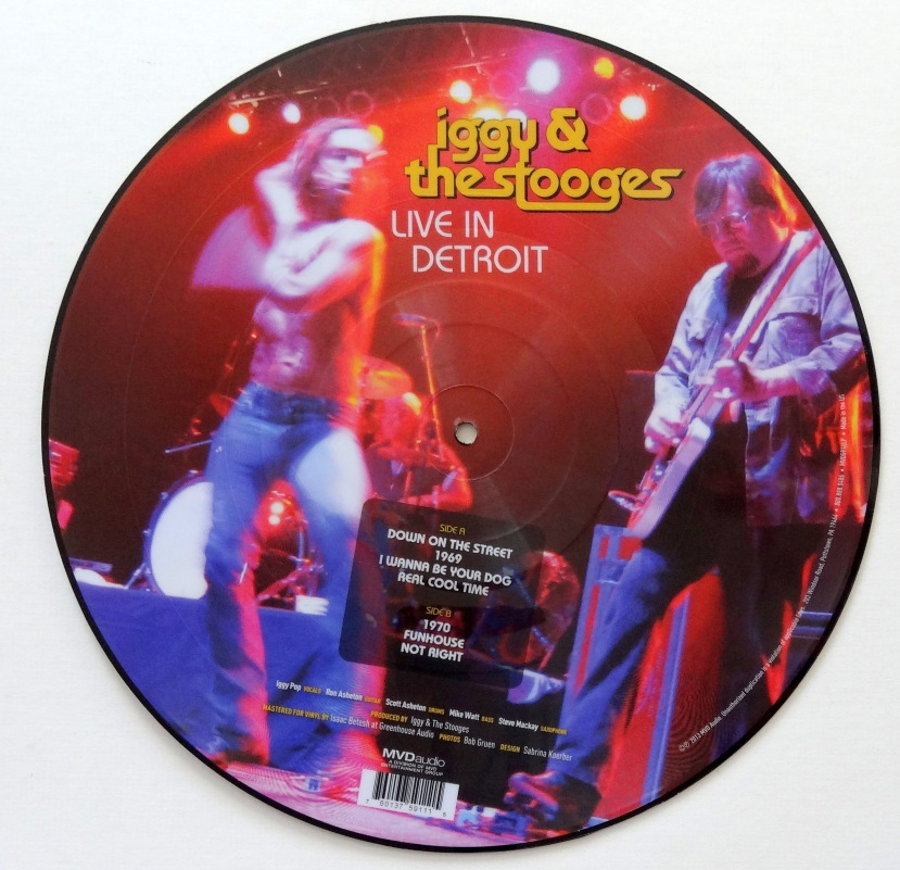 Iggy and the Stooges Live in Detroit back