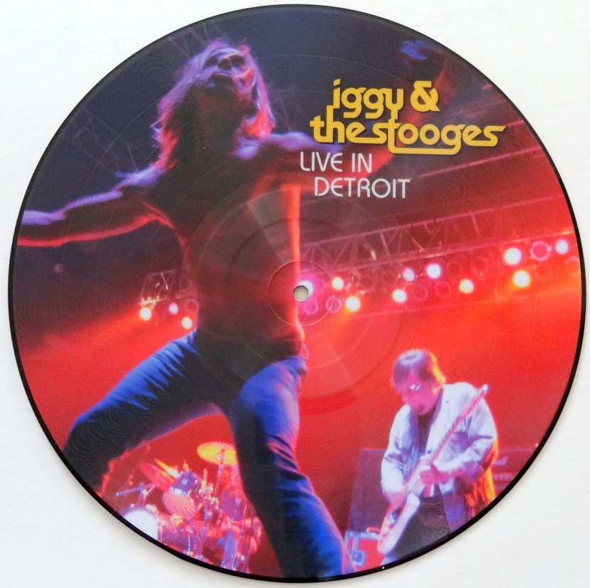 Iggy and the Stooges Live in Detroit front