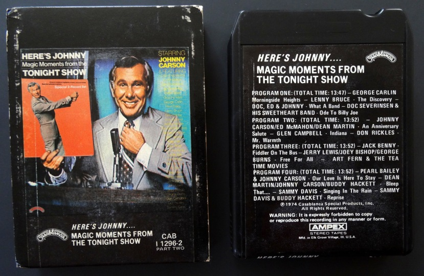 Tonight Show 8-Track front