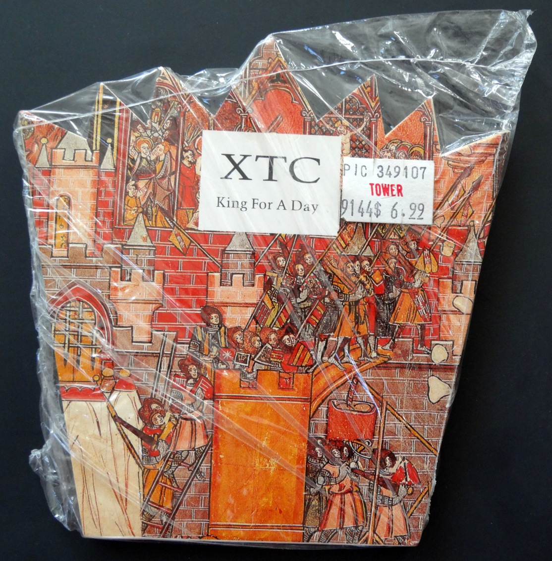 XTC King For A Day front