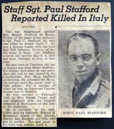 Paul Stafford news clip