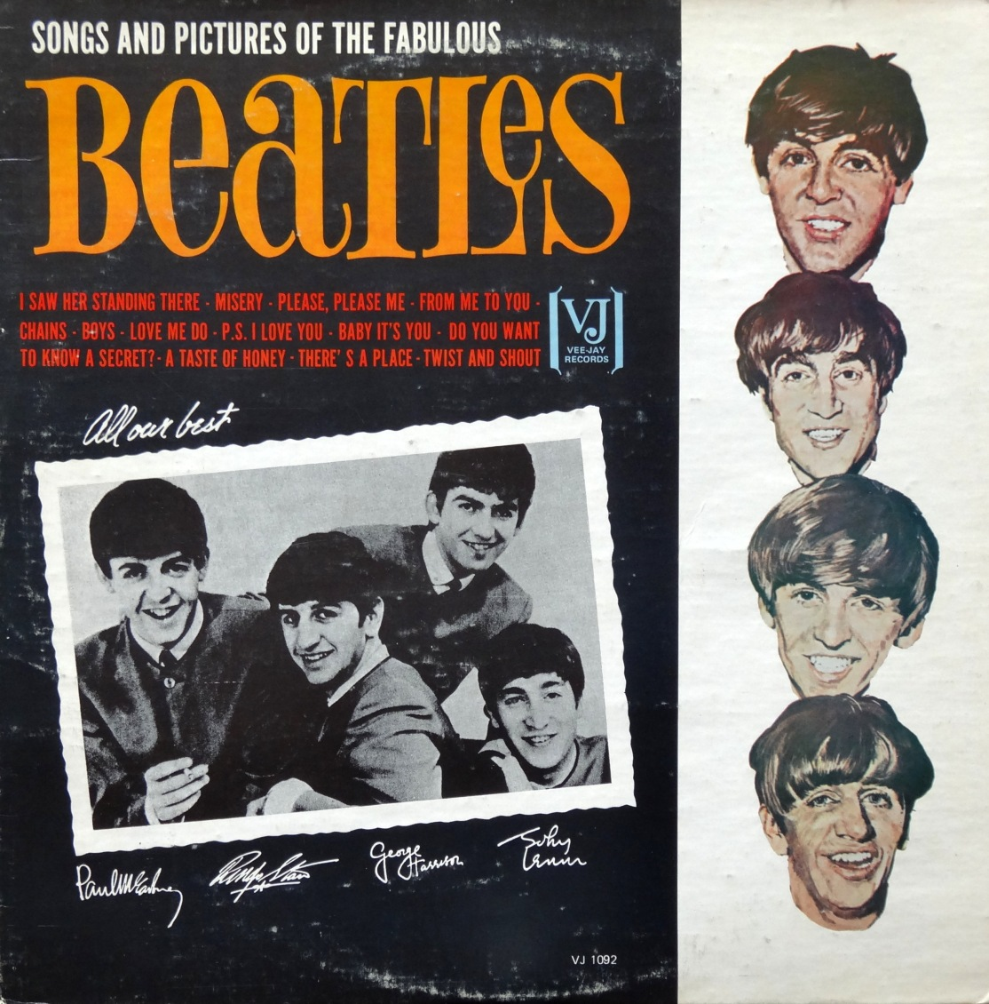 Beatles Songs Pictures front