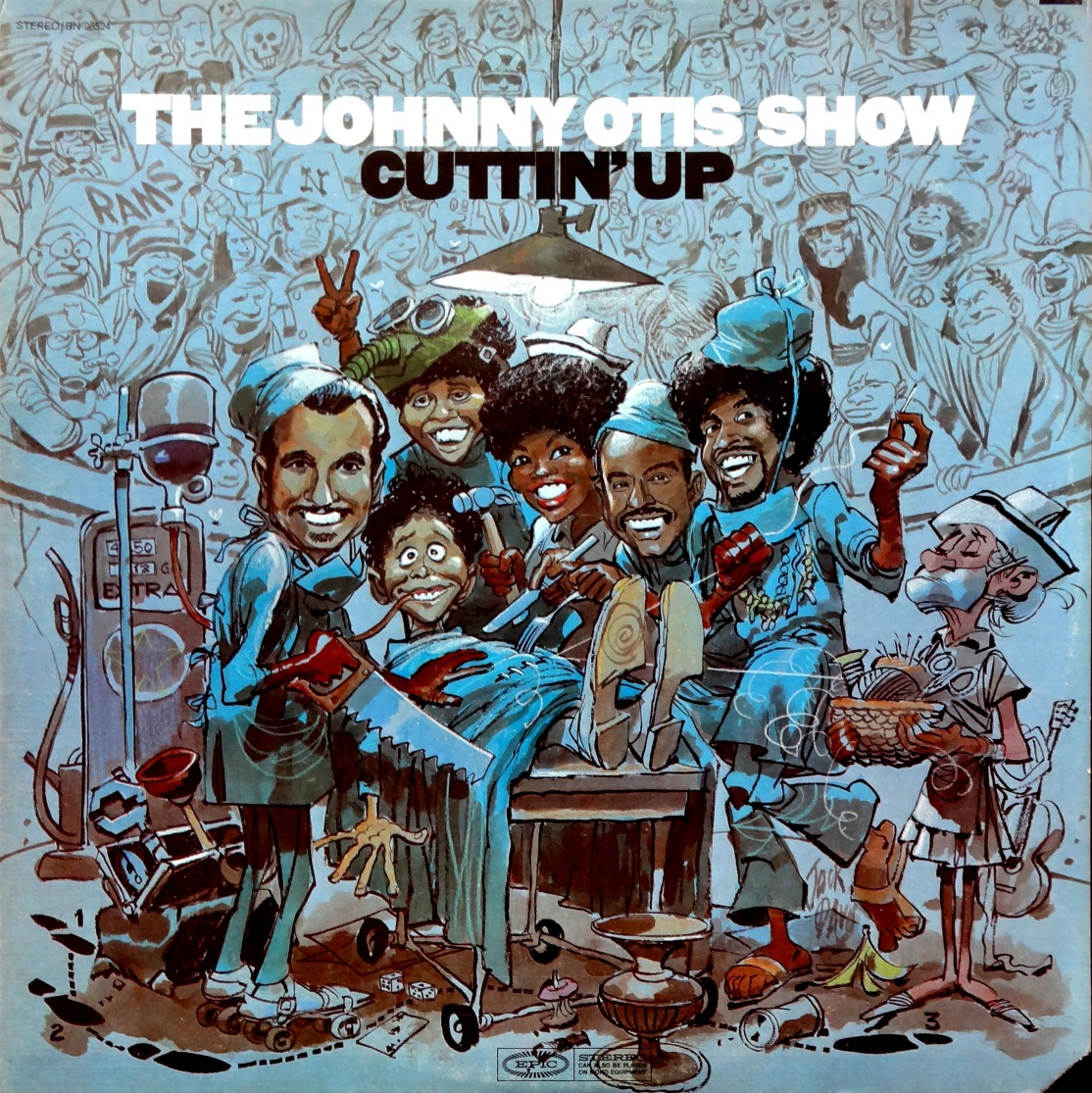 Johnny Otis Cuttin Up front