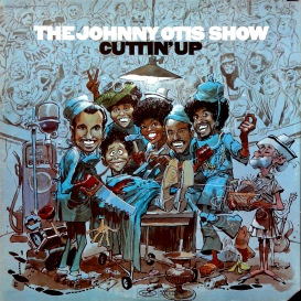 Johnny Otis Cuttin Up front