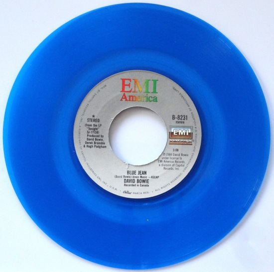Bowie Blue Jean A Side