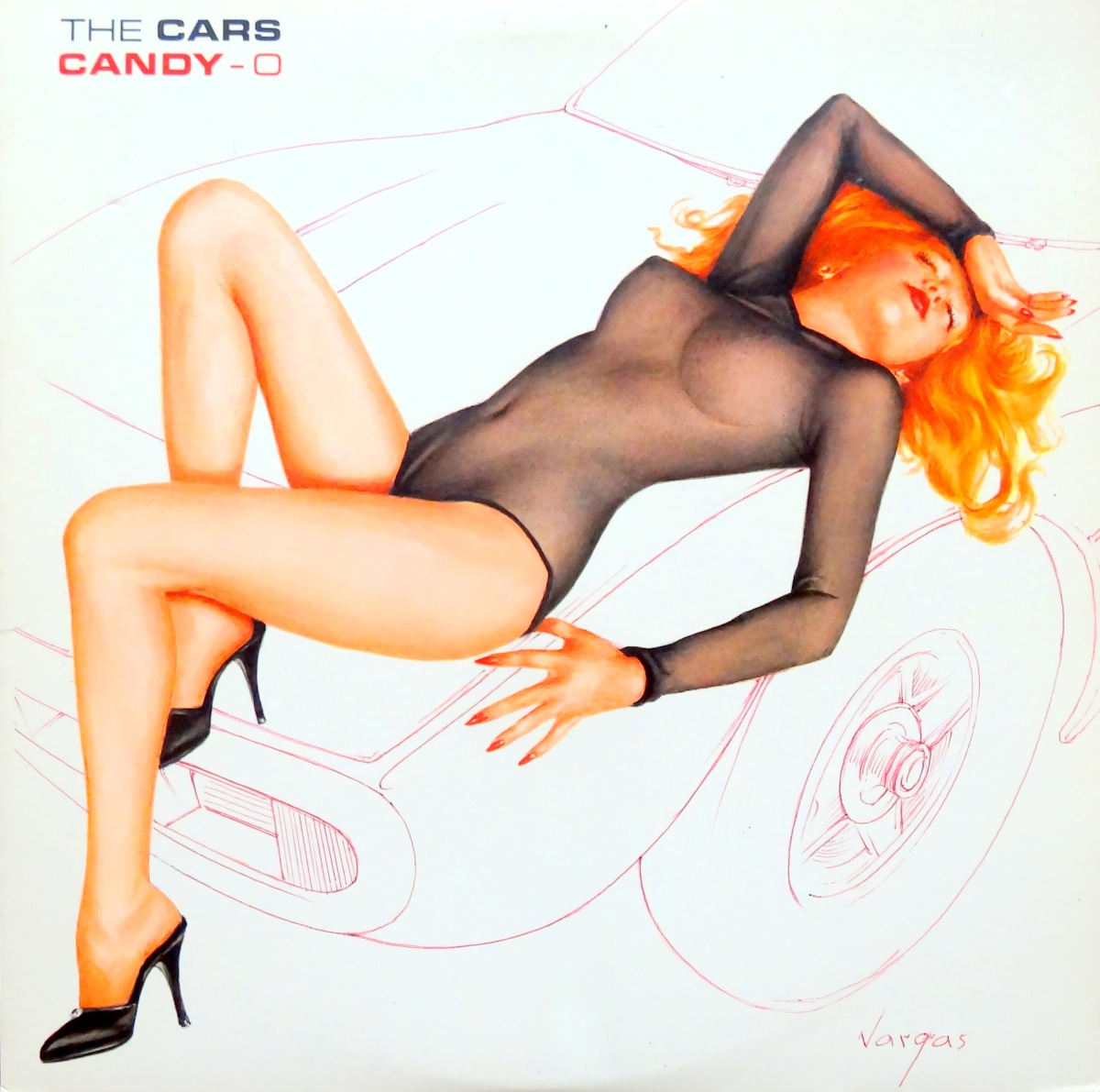 Cheesecake Cover of the Week: The Cars, 'Candy-O'