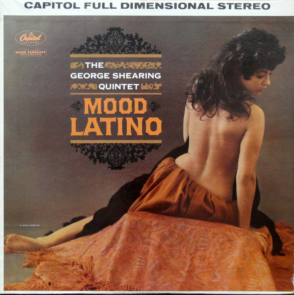 Cheesecake Cover of the Week: George Shearing Quintet, 'Mood Latino'