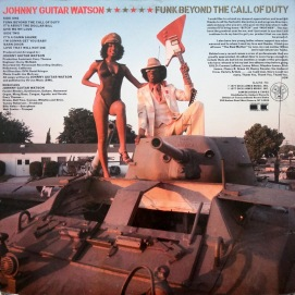Johnny Guitar Watson back