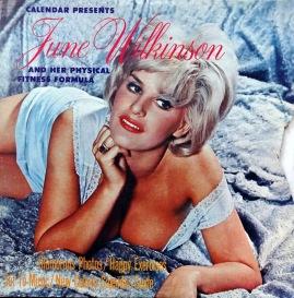June Wilkinson front