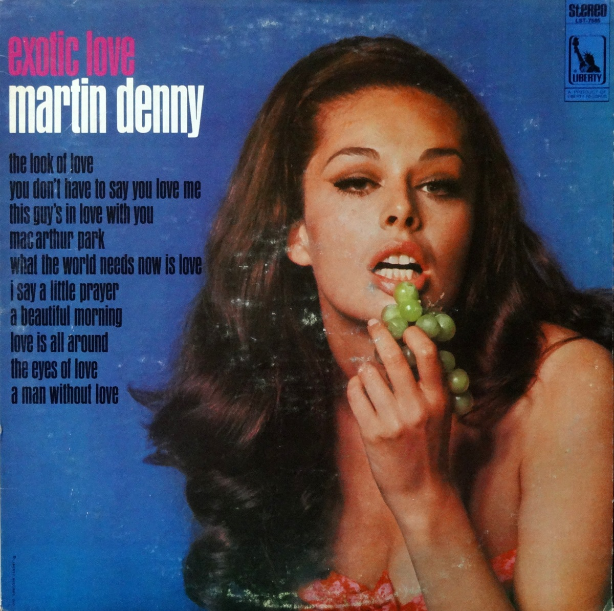Cheesecake Cover of the Week: Martin Denny, 'Exotic Love'