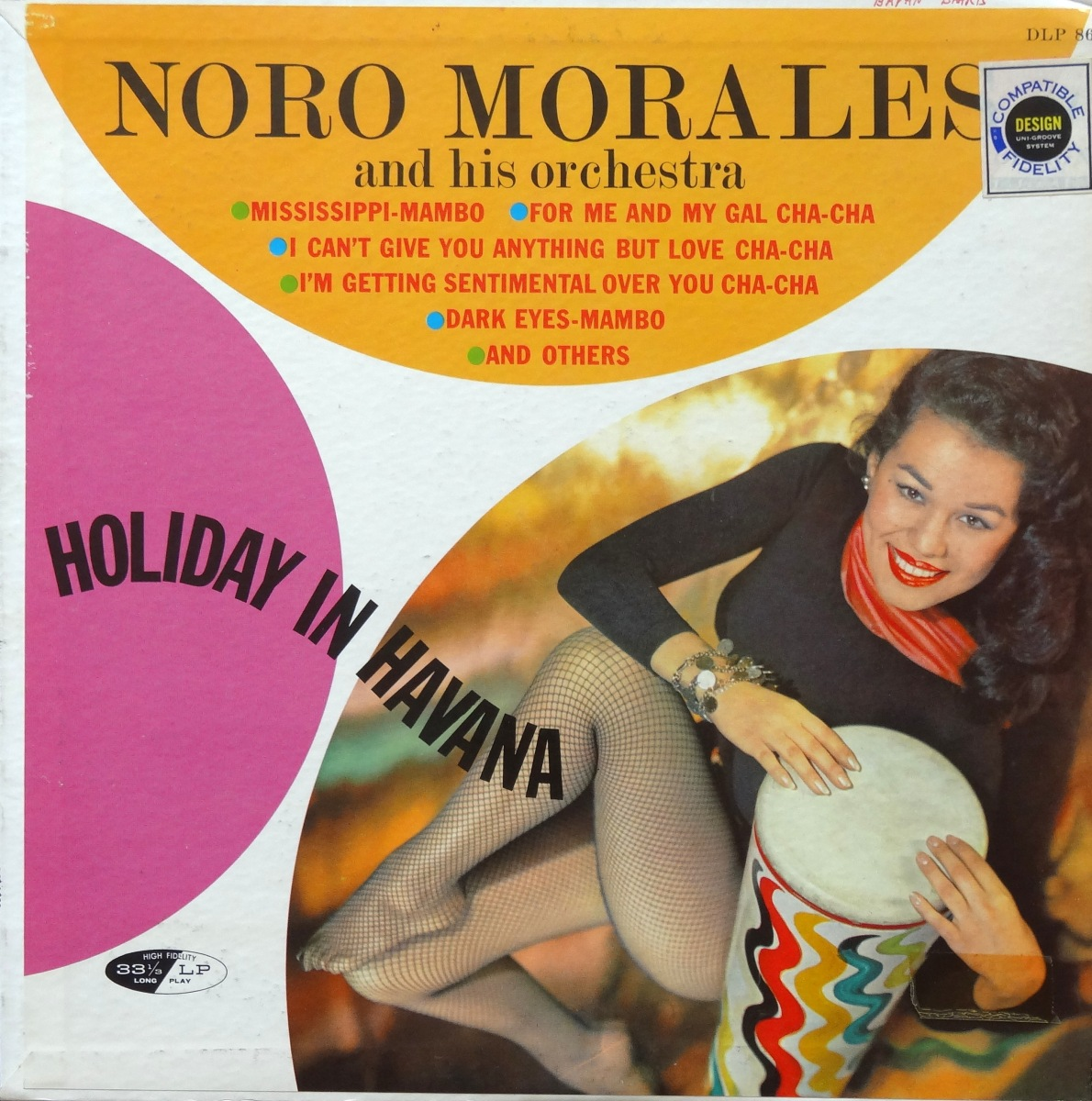 Cheesecake Cover of the Week: Noro Morales, 'Holiday In Havana'