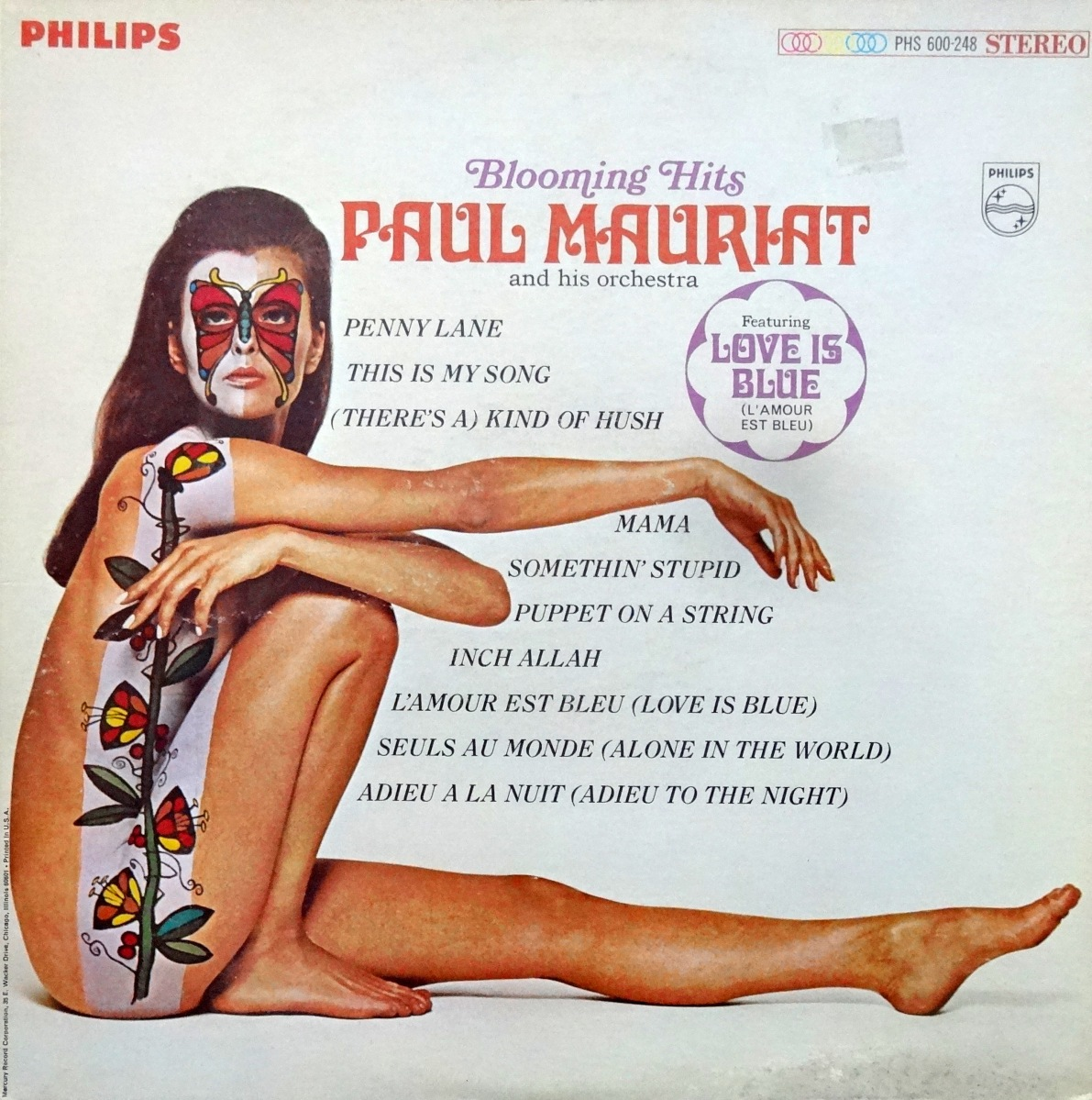 Cheesecake Cover of the Week: Paul Mauriat, 'Blooming Hits'