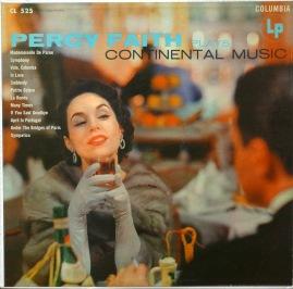 Percy Faith Plays Continental Music
