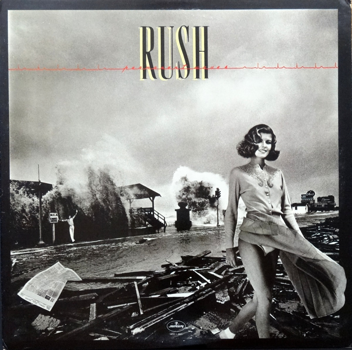 Cheesecake Cover of the Week: Rush, 'Permanent Waves'