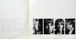 Beatles White Album gatefold