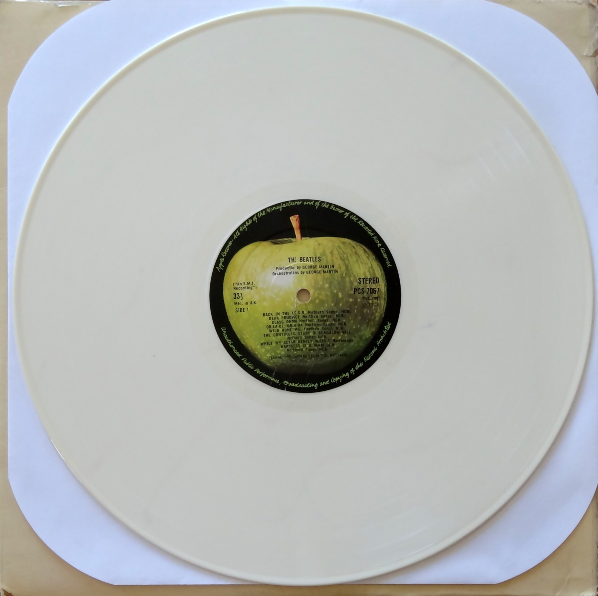 From The Stacks: The Beatles, 'White Album' (White Vinyl)