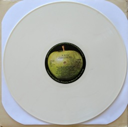 Beatles White Album White Vinyl2