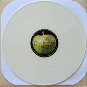 Beatles White Album White Vinyl2
