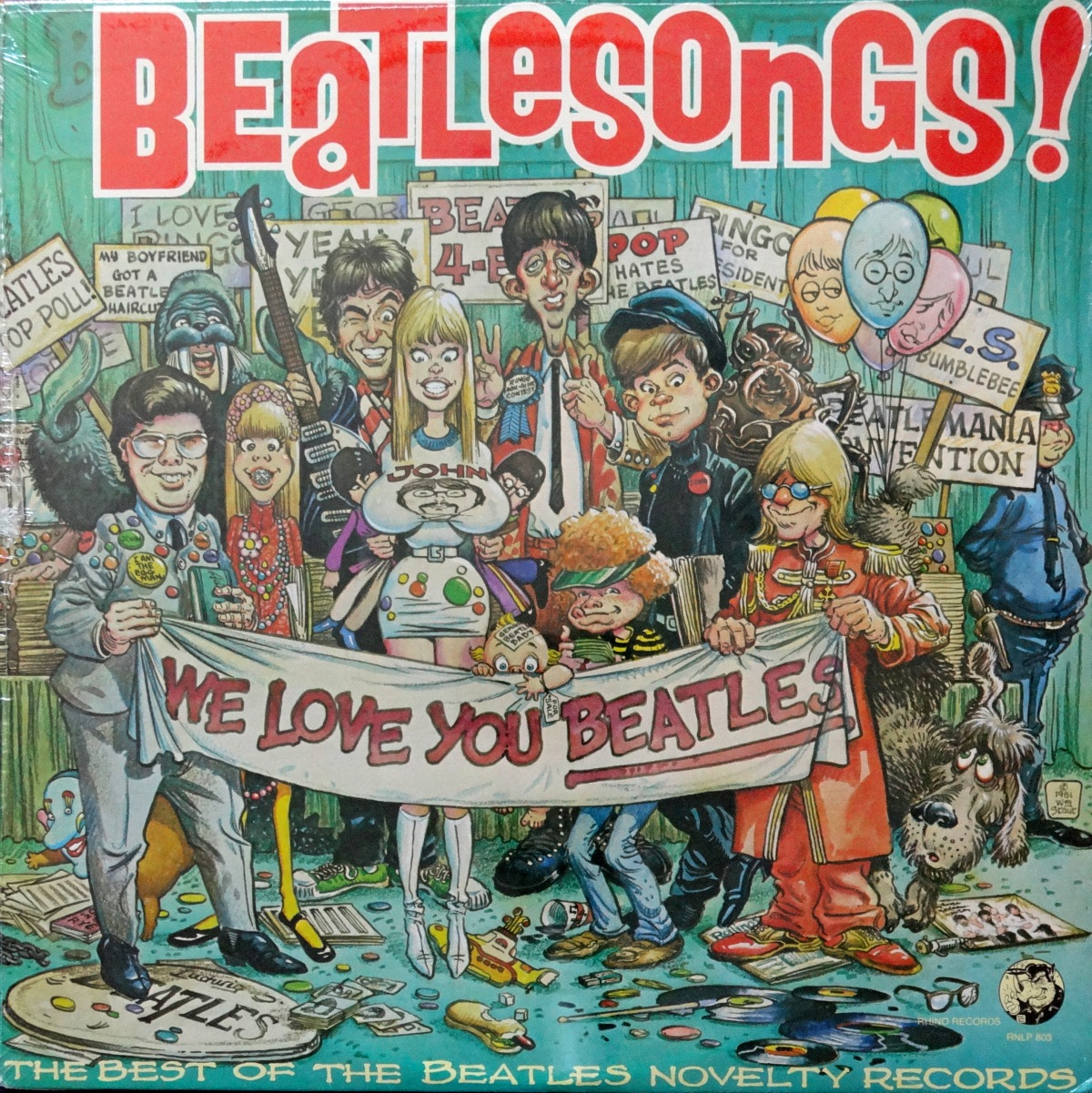 Cartoon Saturday: 'Beatlesongs!'
