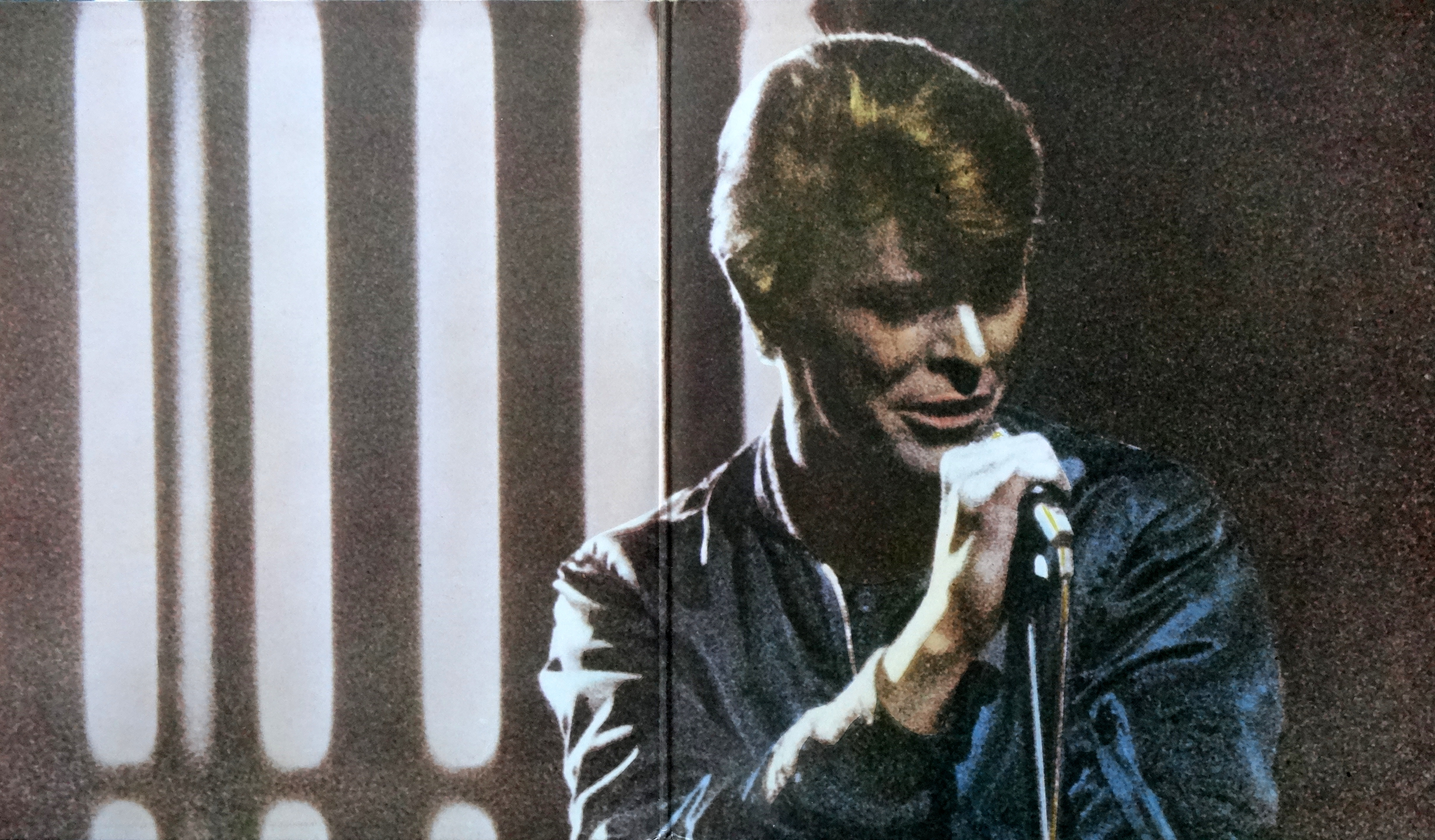 From The Stacks David Bowie Stage Blue Vinyl Why