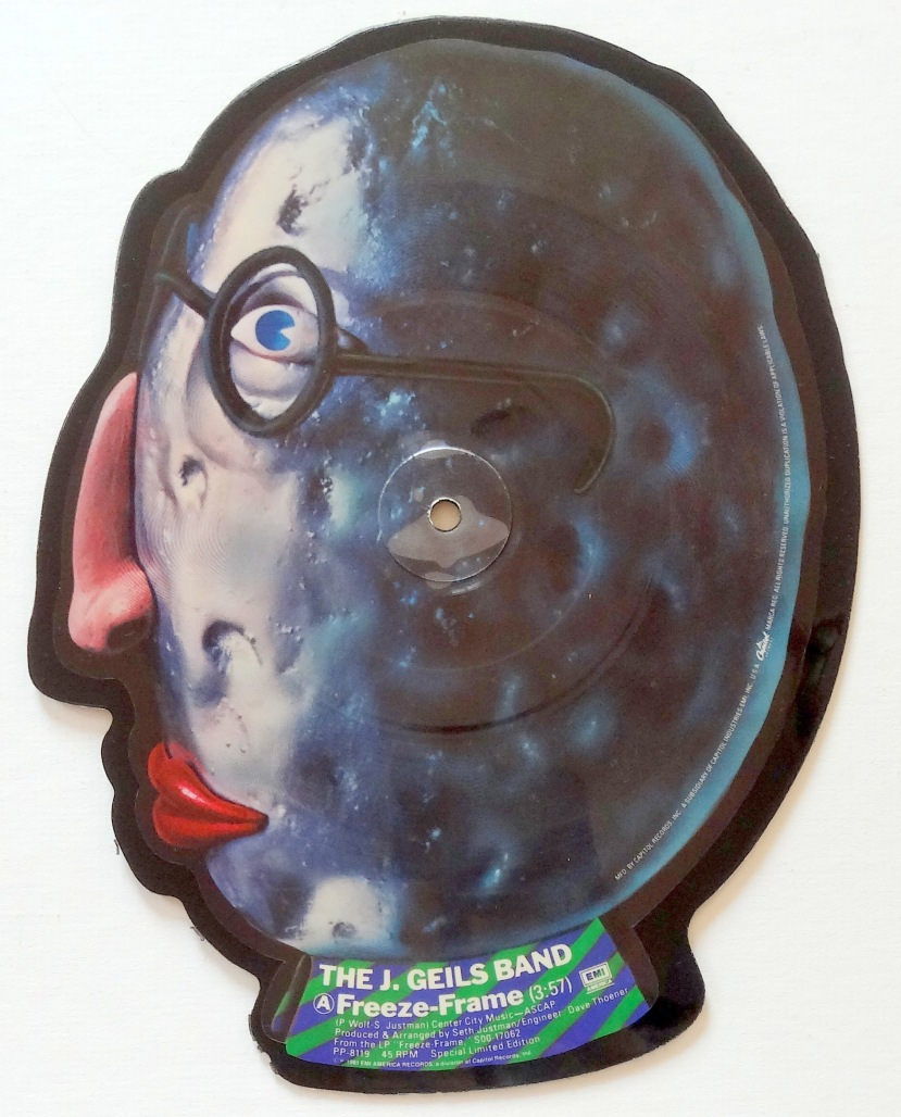 "From The Stacks: The J. Geils Band, ""Freeze Frame"" (Picture Disc ..."