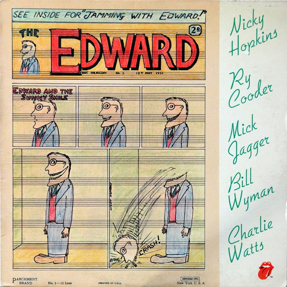 From The Stacks: 'Jamming With Edward'