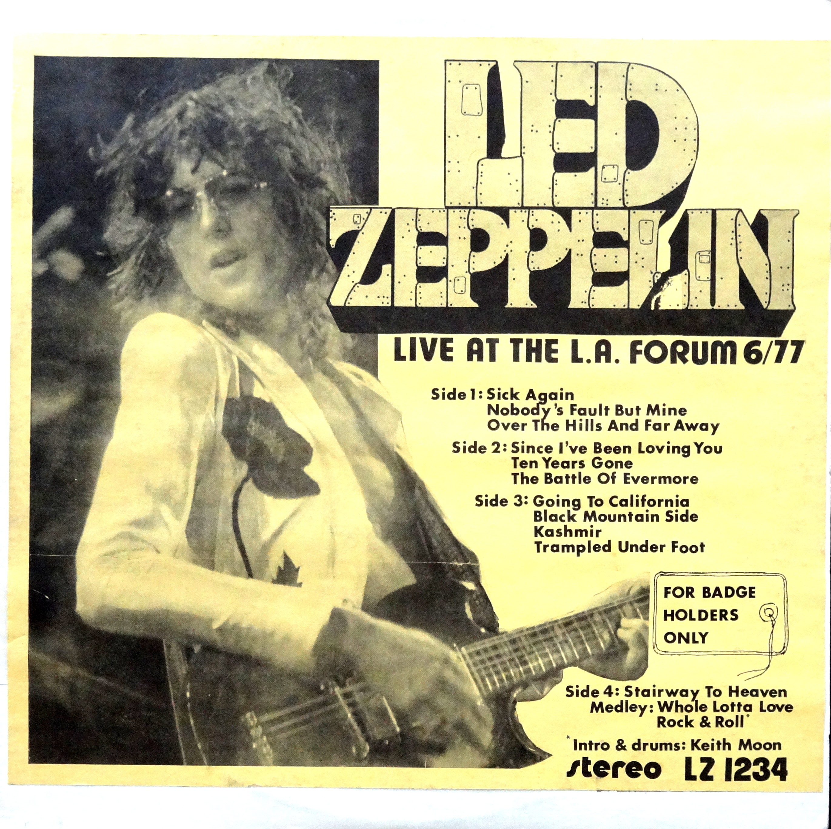 From The Stacks: Led Zeppelin Bootlegs – Why It Matters