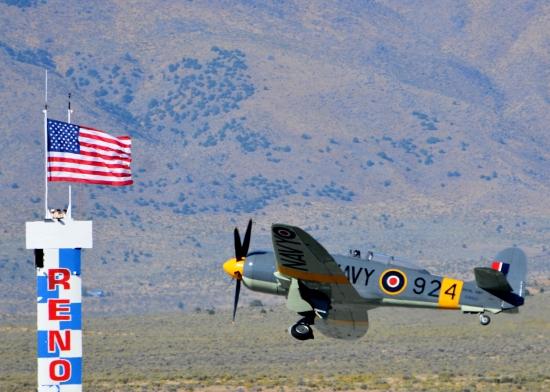 Sea Fury 924 flag