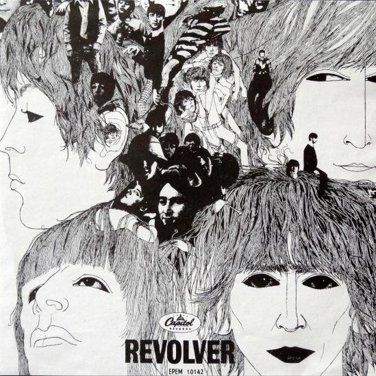 Beatles Revolver Mexican EP 2