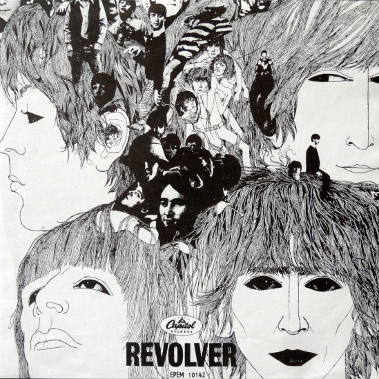 Beatles Revolver Mexican EP 2