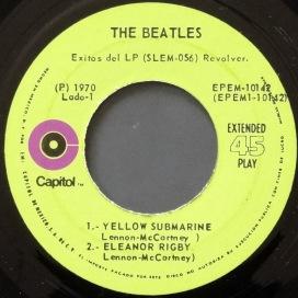 Beatles Revolver Mexican EP 3