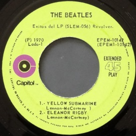 Beatles Revolver Mexican EP 3