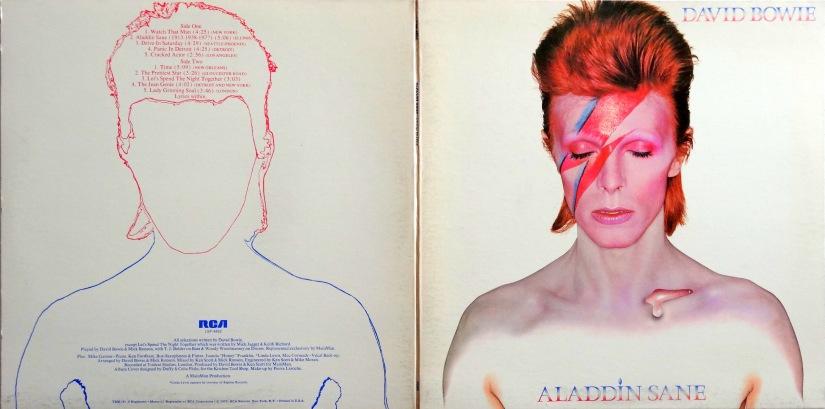 Bowie Aladdin Sane outer