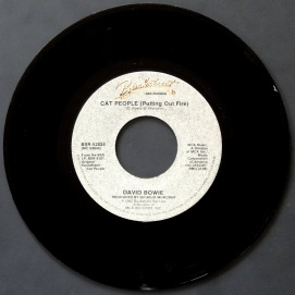 Bowie Cat People Moroder single