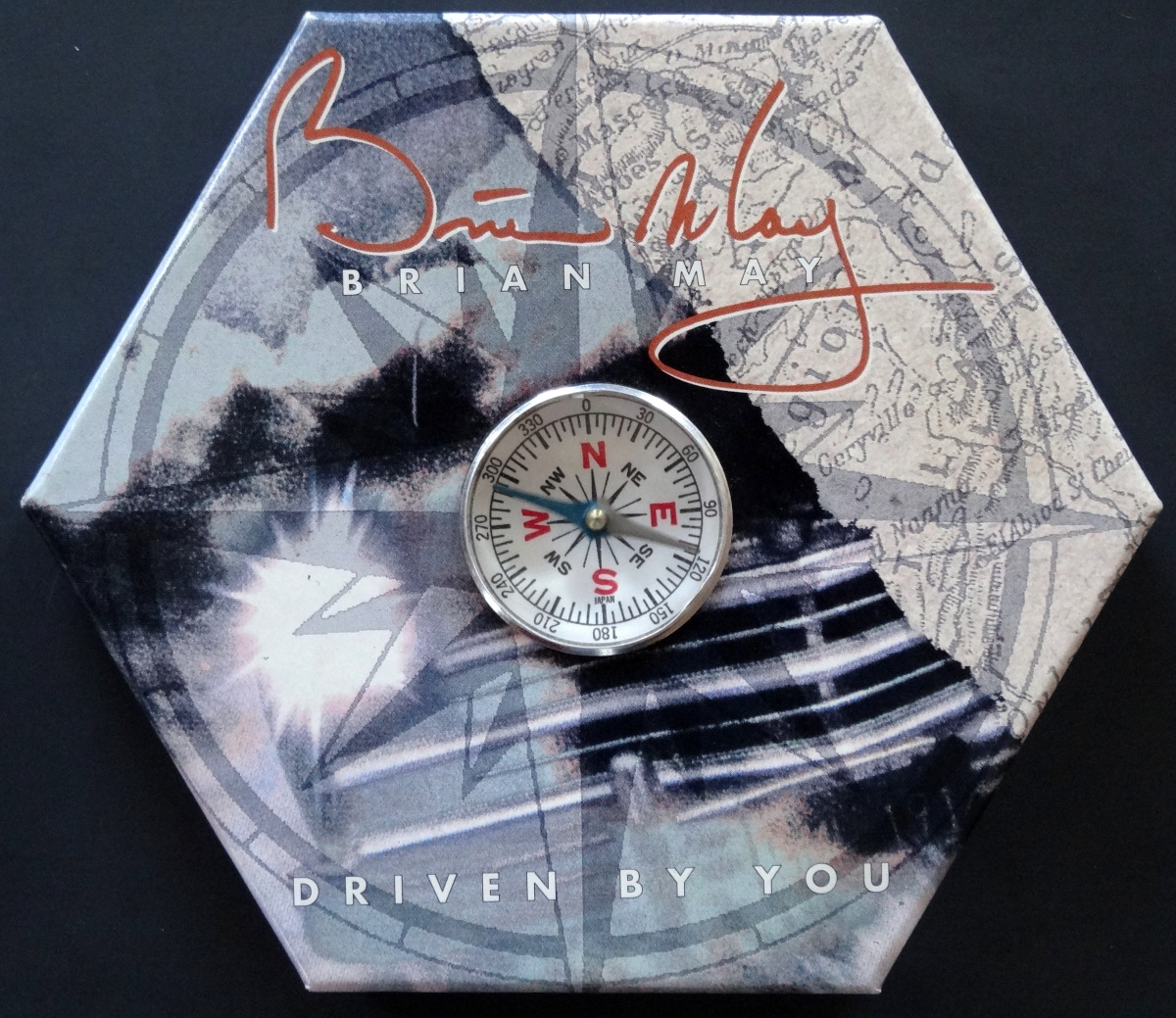 "From The Stacks: Brian May, ""Driven By You"" (Promo CD Single)"