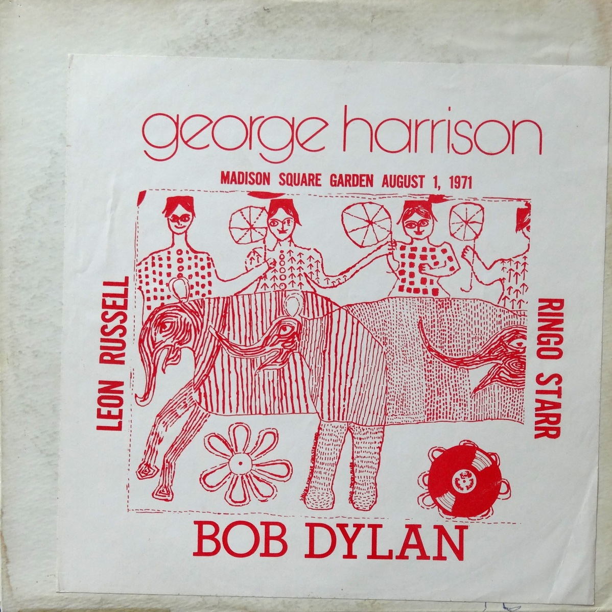 From The Stacks: George Harrison, 'Madison Square Garden August 1, 1971' (Bootleg)