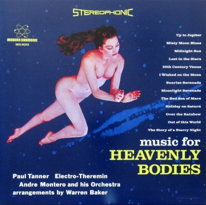 Music For Heavenly Bodies front