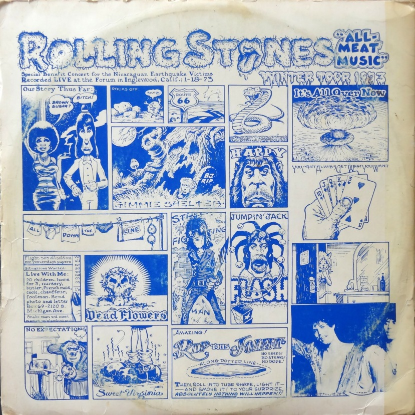 From The Stacks: Rolling Stones, 'All-Meat Music' ( and a William