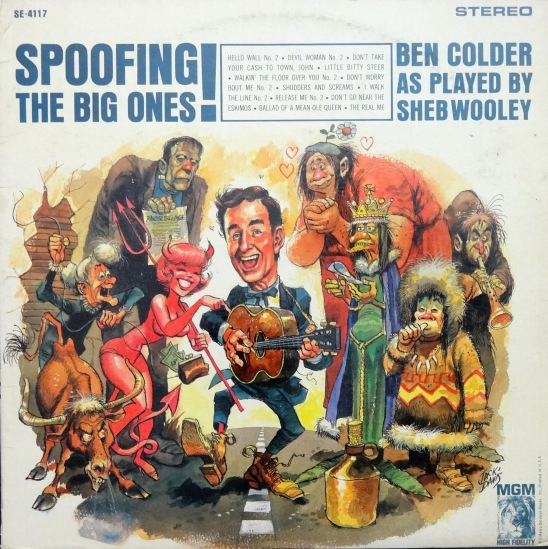 Sheb Wooley Spoofing